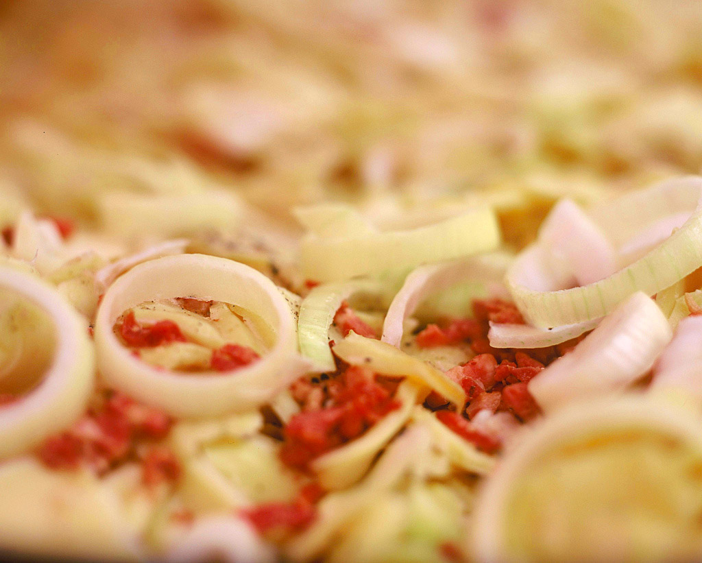 Tartiflette/Salade
